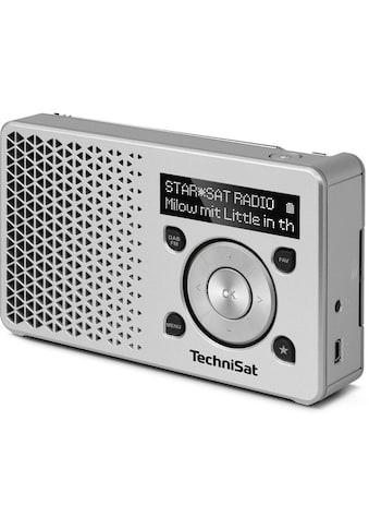 TechniSat Digitalradio (DAB+) »DIGITRADIO 1«, ( Digitalradio (DAB+) 1 W), Made in Germany kaufen