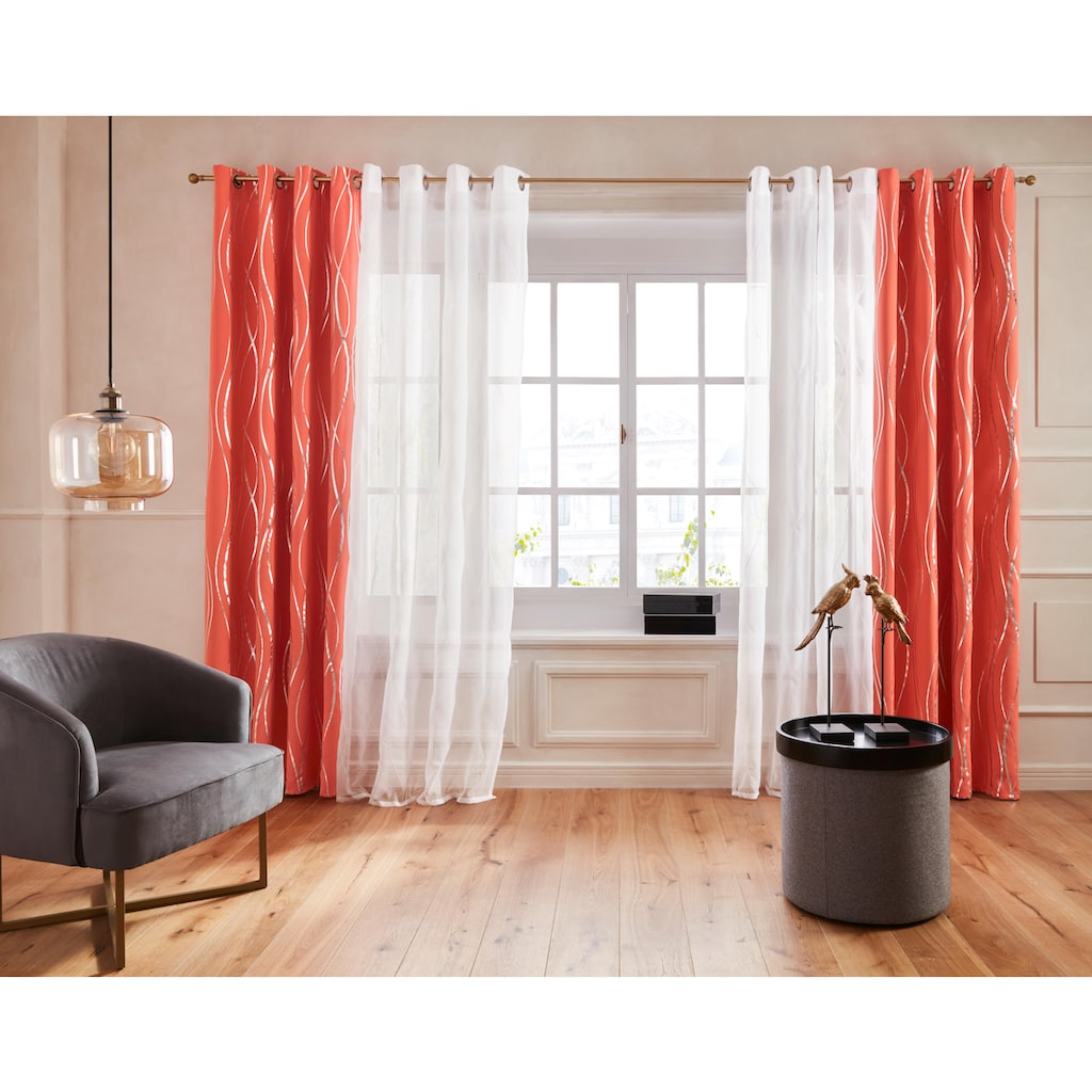 Guido Maria Kretschmer Home&Living Vorhang »Prag«, Foliendruck, democratichome Edition