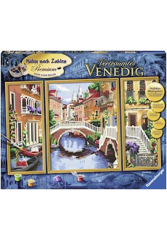 Ravensburger Malen nach Zahlen »Triptychon - Verträumtes Venedig«, Made in Europe kaufen