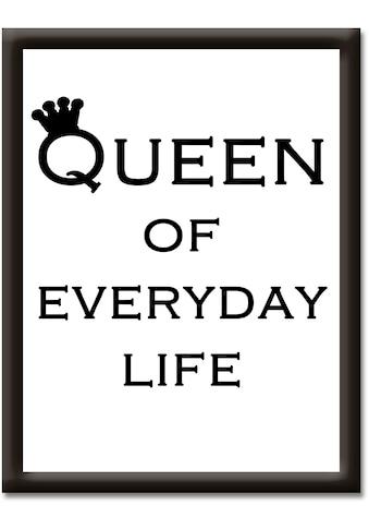 Artland Wandbild »Königin des Alltags« kaufen