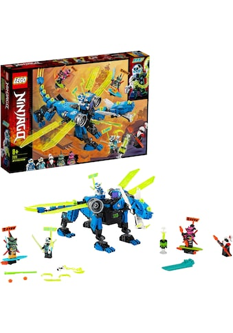 "LEGO® Konstruktionsspielsteine ""Jays Cyber - Drache (71711), LEGO® NINJAGO®"", Kunststoff, (518 - tlg.) kaufen"