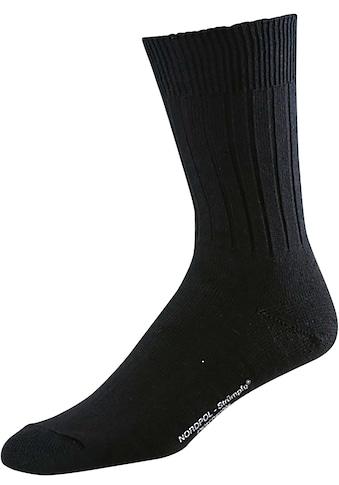 Freizeitsocken »2788 Nordpol Sportsocke schwarz«, 2er-Pack kaufen