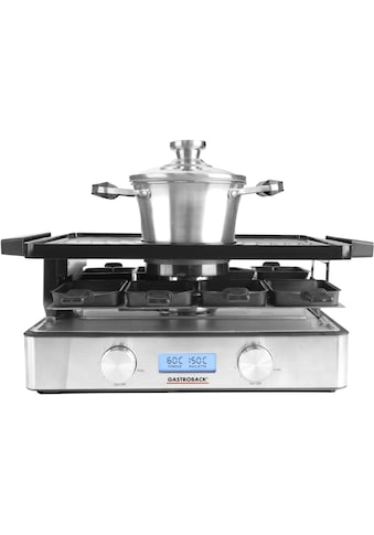 Gastroback Raclette und Fondue-Set »42562 Design Advanced Plus«, 9 St.... kaufen
