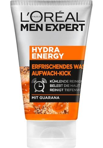 L'ORÉAL PARIS MEN EXPERT Gesichtsreinigungsgel »Hydra Energy Aufwach-Kick«, reinigt &... kaufen