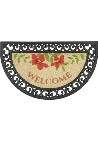 ASTRA Fußmatte »Coco Relief 14«, halbrund, 12 mm Höhe, Schmutzfangmatte, Kokosmatte,... kaufen