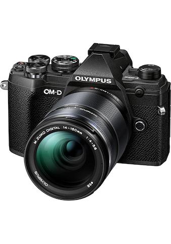 Olympus »OM - D E - M5 Mark III« Systemkamera (M.Zuiko Digital ED 14 - 150mm F/4 - 5.6, 20,4 MP, Bluetooth NFC) kaufen