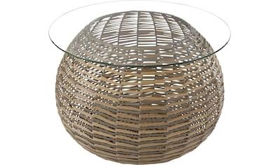 Kayoom Glastisch »Baran Hellbraun« kaufen