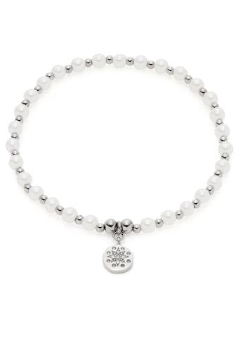 CIAO! BY LEONARDO Armband »Pelena CIAO, 021176«, mit Kristallglas - mit Perle (imitiert) kaufen