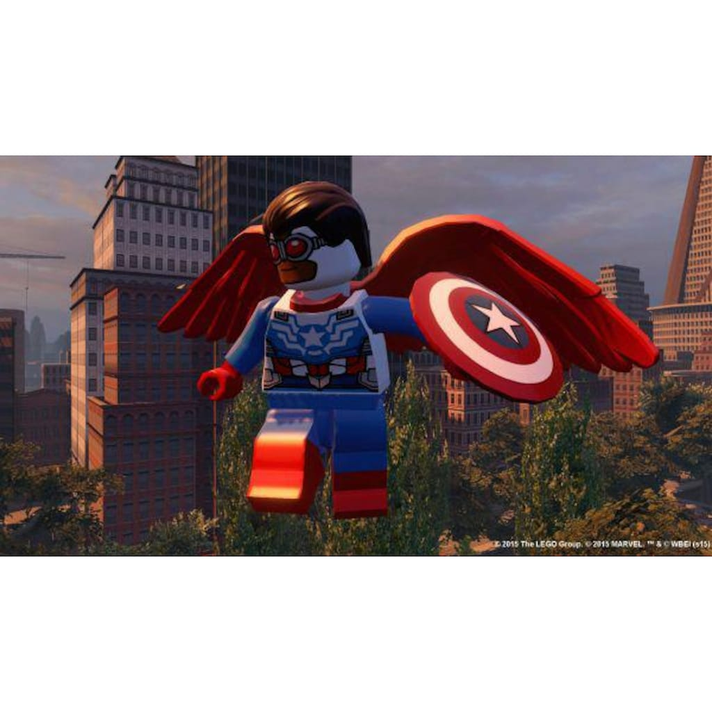 Warner Games Spiel »Lego Marvel Avengers«, Xbox 360, Software Pyramide