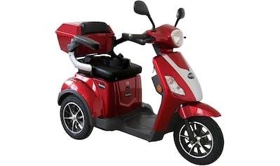 Rolektro Elektromobil »E-Trike 25 V.2, Blei-Gel-Akku«, 1000 W, 25 km/h, (mit Topcase) kaufen