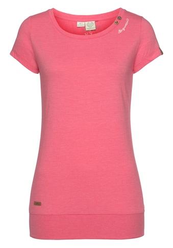 Ragwear Longshirt »LESLY«, mit extra breitem Saumabschluss kaufen