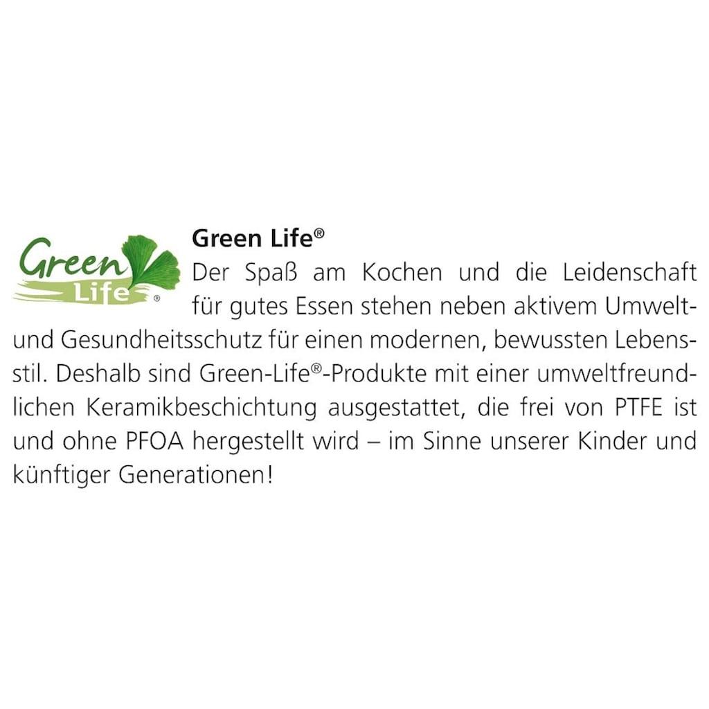 SCHULTE-UFER Schmortopf »Green Life®«, Edelstahl, (1 tlg.)