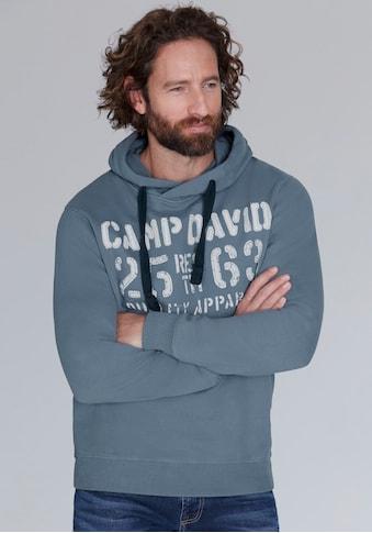 CAMP DAVID Kapuzensweatshirt, mit großem Frontprint kaufen