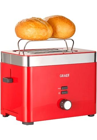 Graef Toaster »TO 63«, für 2 Scheiben, 888 Watt kaufen