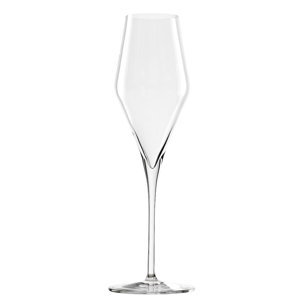 Stölzle Champagnerglas »QUATROPHIL«, (Set, 6 tlg.), 6-teilig