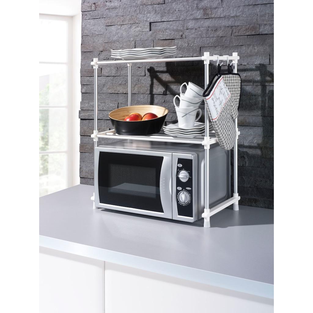 Ruco Küchenregal, Aluminium/Kunststoff, 2 Ebenen