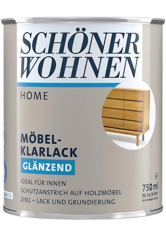 SCHÖNER WOHNEN-Kollektion Klarlack »Home Möbel-Klarlack«, glänzend, 750 ml, farblos kaufen