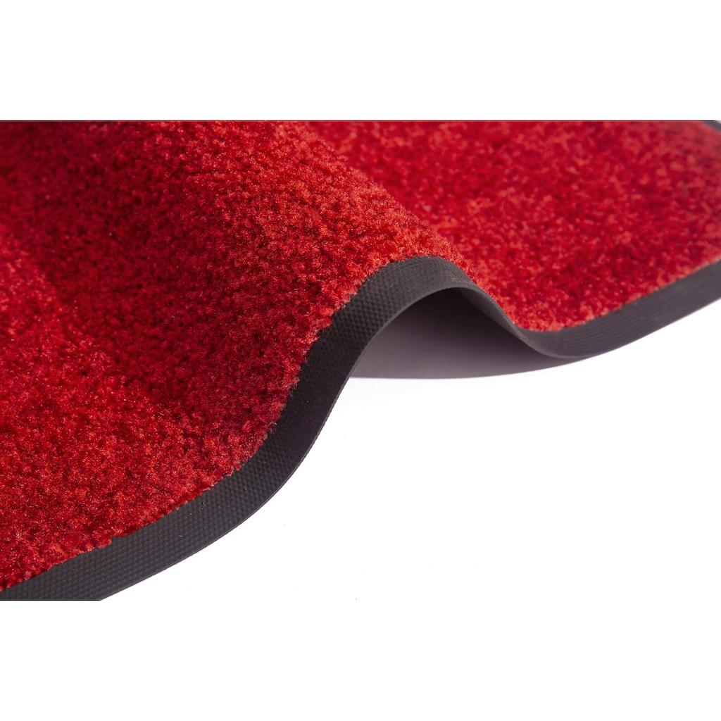 my home Fußmatte »Mette«, rechteckig, 5 mm Höhe, Fussabstreifer, Fussabtreter, Schmutzfangläufer, Schmutzfangmatte, Schmutzfangteppich, Schmutzmatte, Türmatte, Türvorleger, In- und Outdoor geeignet