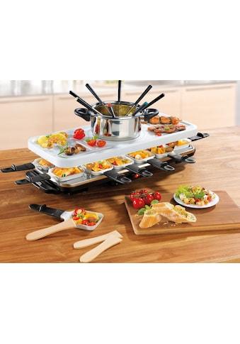 GOURMETmaxx Raclette und Fondue-Set »Raclette- und Fondue Set«, 12 St.... kaufen