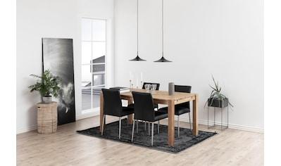 andas Esszimmerstuhl »Sina«, aus schönem, pflegeleichten Naturleder, Sitzhöhe 48,5 cm kaufen