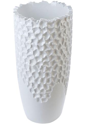 Casablanca by Gilde Pflanzkübel »Carve«, (1 St.), dekorativer Blumentopf, groß, aus... kaufen