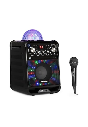 Auna LED Karaokeanlage CD-Player Bluetooth AUX 2 x 6,3mm kaufen