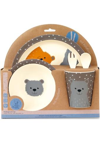 Sterntaler® Kindergeschirr-Set »Baylee«, mit Holzfasern kaufen