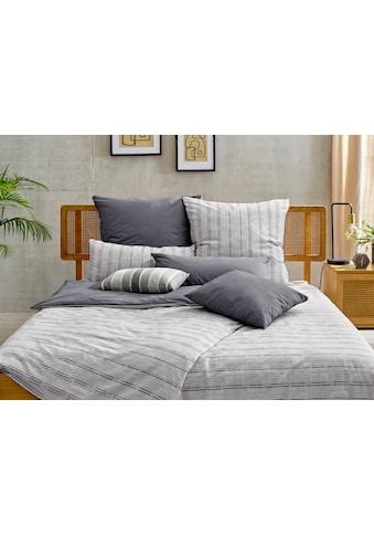COUCH♥ Wendebettwäsche »Ein Träumchen«, mit tollen Streifen, Couch Lieblingsstücke kaufen