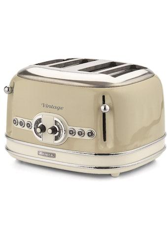Ariete Toaster »Vintage«, für 4 Scheiben, 1600 Watt kaufen