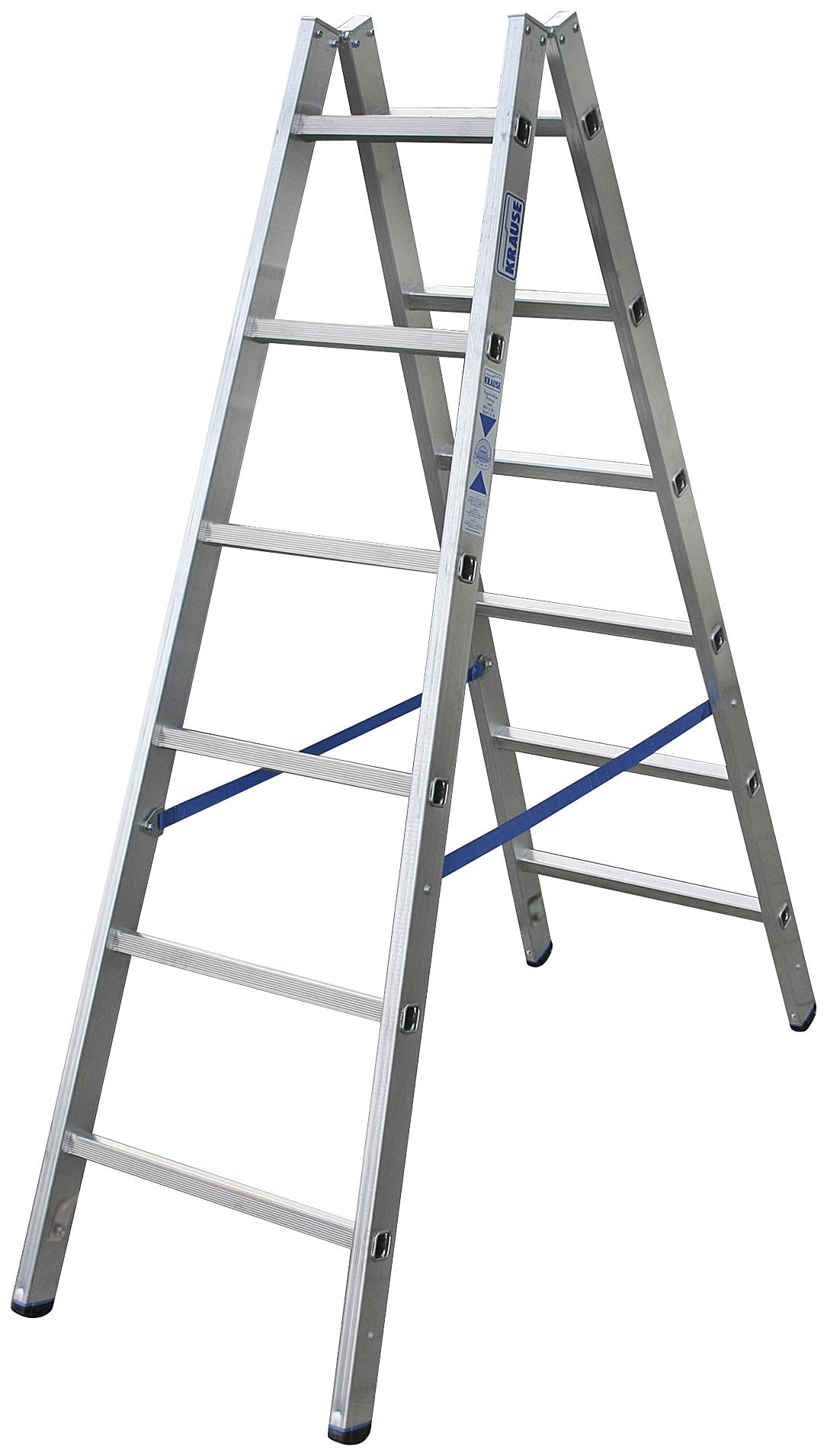 KRAUSE Stehleiter »STABILO«, beidseitig begehbar | Baumarkt > Leitern und Treppen > Stehleiter | KRAUSE