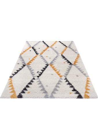 Hochflor - Teppich, »Lark«, MINT RUGS, rechteckig, Höhe 33 mm, maschinell gewebt kaufen