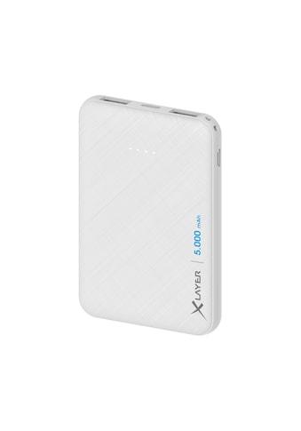 XLAYER Zusatzakku »Powerbank Micro White 5000mAh Smartphones/Tablets« kaufen