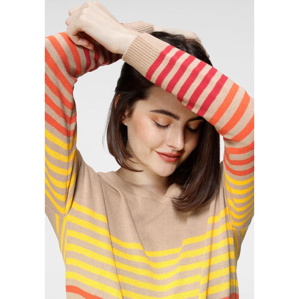 Boysen's Rundhalspullover, aus nachhaltiger Baumwolle