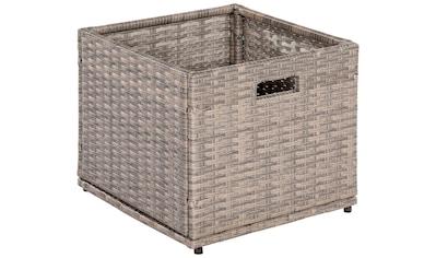 MERXX Kissenbox »Unterschiebbox klein«, Stahl/Kunststoff, 49x47x40 cm kaufen