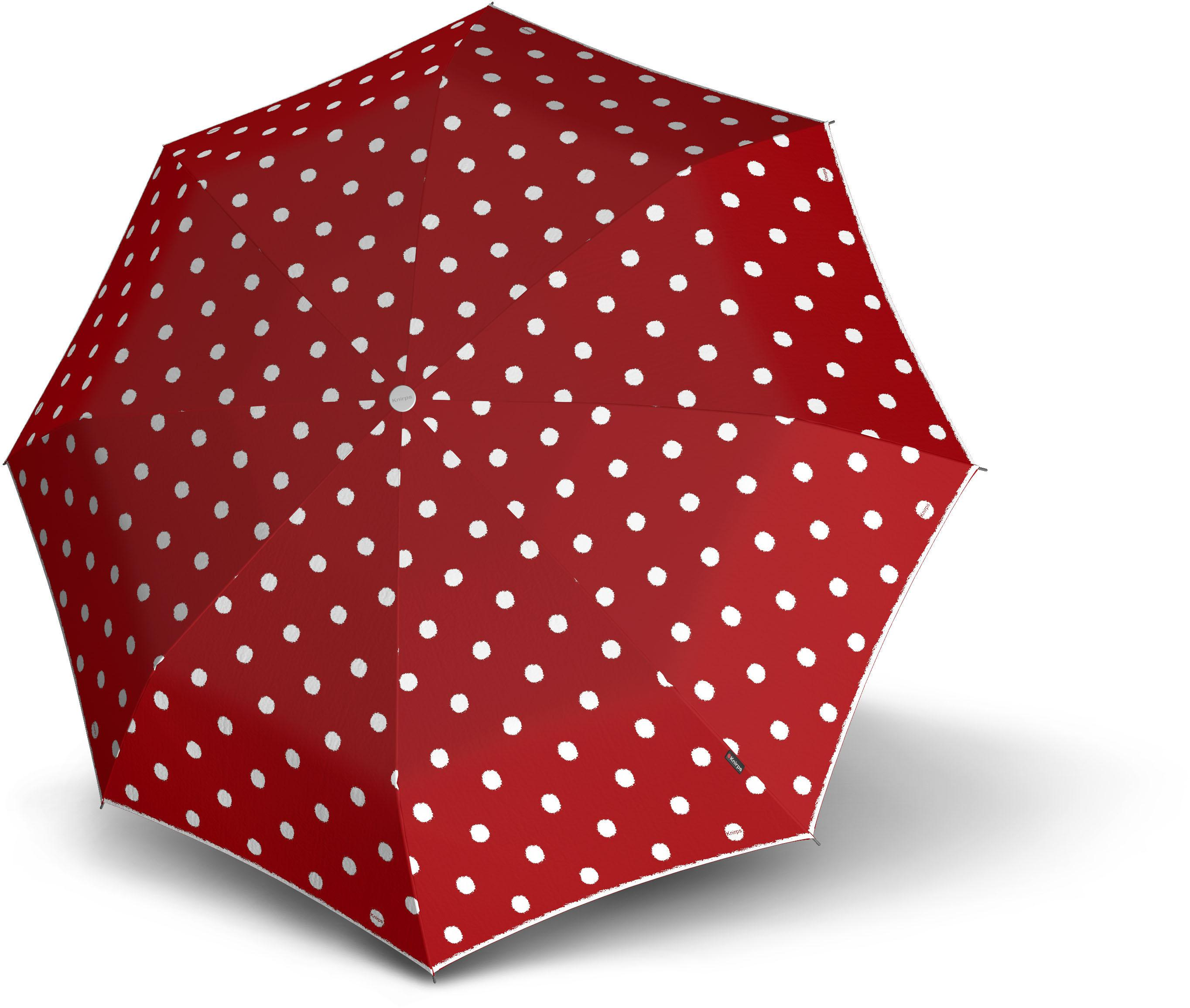 Knirps®, Taschenregenschirm ´´T.010 Small Manual´´ | Accessoires > Regenschirme | Rot | KNIRPS