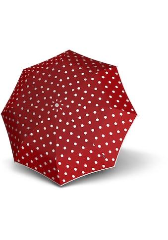 Knirps® Taschenregenschirm »T.010 Small Manual, Dot Art Red« kaufen