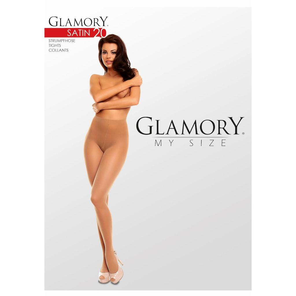 GLAMORY Feinstrumpfhose »Satin«, 20 DEN, mit zusätzlichen Verstärkungen
