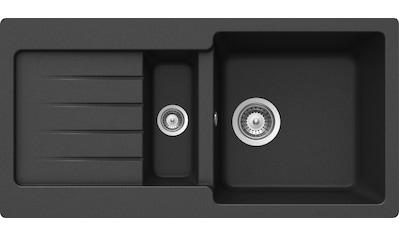 SCHOCK Granitspüle »Family«, mit Restebecken, 86 x 43,5 cm kaufen