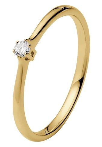 Firetti Solitärring »Diamantring, Verlobungsring«, mit Brillant in klassischer Krappenfassung kaufen