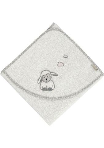 Sterntaler® Badetuch »Stanley«, (1 St.), mit Schaf und Wolken kaufen