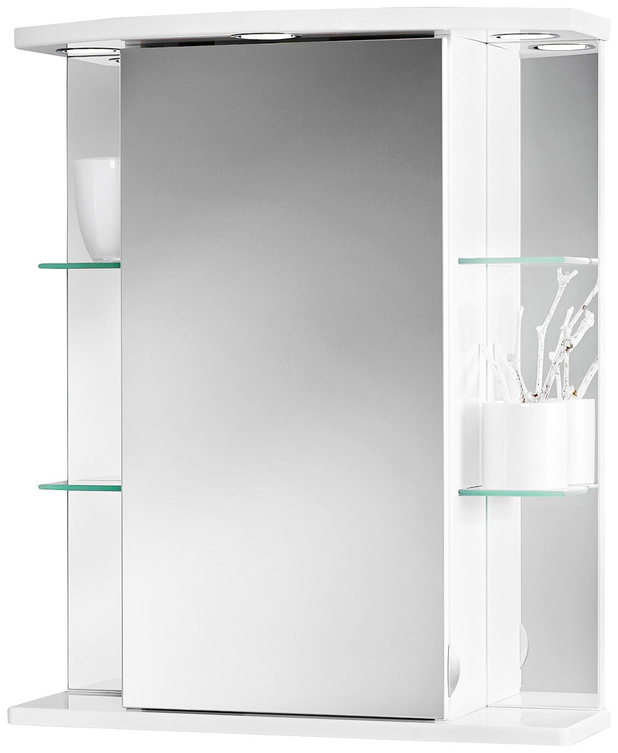 JOKEY Spiegelschrank »Havana LED«, Breite 55 cm | Bad > Badmöbel > Spiegelschränke fürs Bad | jokey
