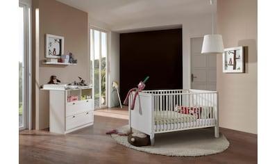 Babymöbel-Set »Helsingborg«, (Spar-Set, 2 St.), Bett + Wickelkommode kaufen