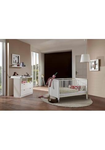 Babymöbel-Set »Helsingborg«, (Spar-Set, 2 tlg.), Bett + Wickelkommode kaufen