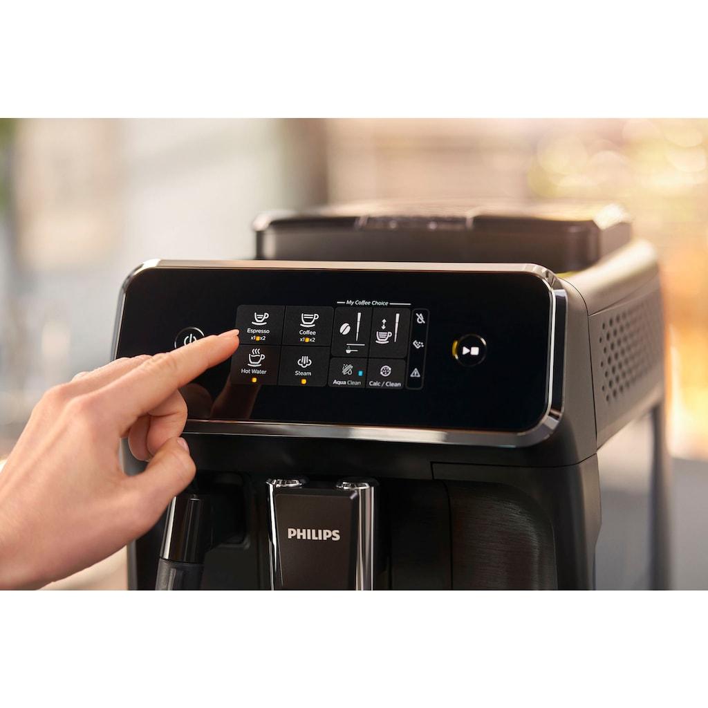 Philips Kaffeevollautomat »2200 Serie EP2220/10 Pannarello, mattschwarz«