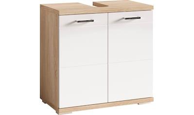 Homexperts Waschbeckenunterschrank »Nusa«, Breite 60 cm, mit Hochglanzlackierung und... kaufen