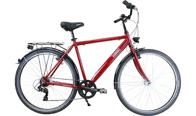HAWK Bikes Trekkingrad »HAWK Citytrek Easy Red Gent«, 7 Gang Shimano Tourney Schaltwerk kaufen