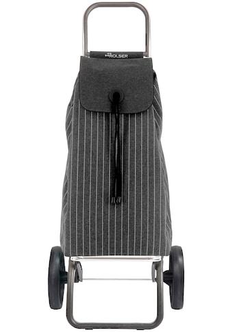 Rolser Einkaufstrolley »Logic RSG I-Max Tailor«, carbon, Max. Tragkraft: 40 kg, Tasche... kaufen