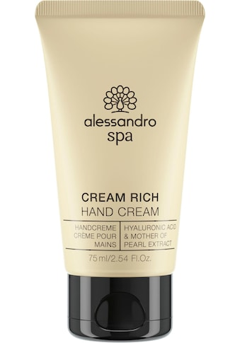 alessandro international Handcreme »SPA CREAM RICH« kaufen