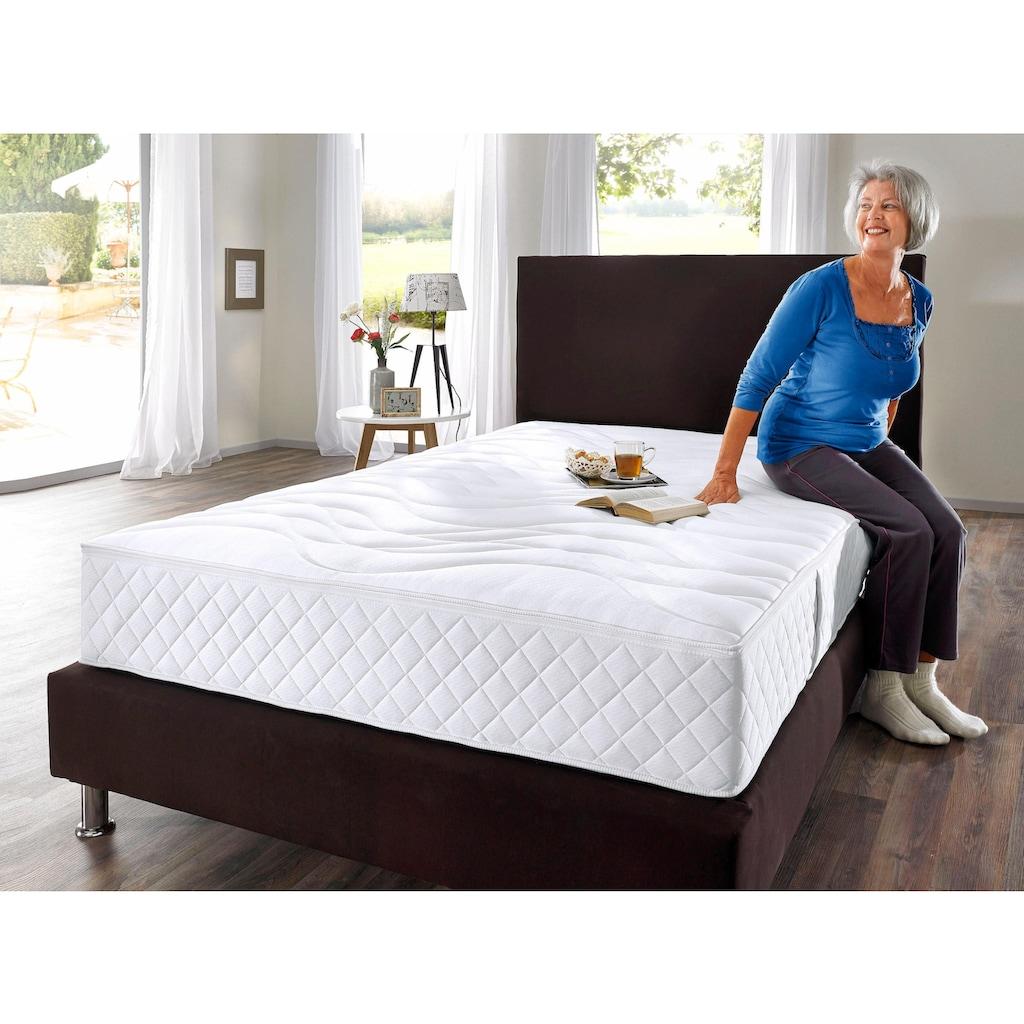 DELAVITA Taschenfederkernmatratze »Senioren 55 plus«, 420 Federn, (1 St.), Mit Sitzkantenverstärkung