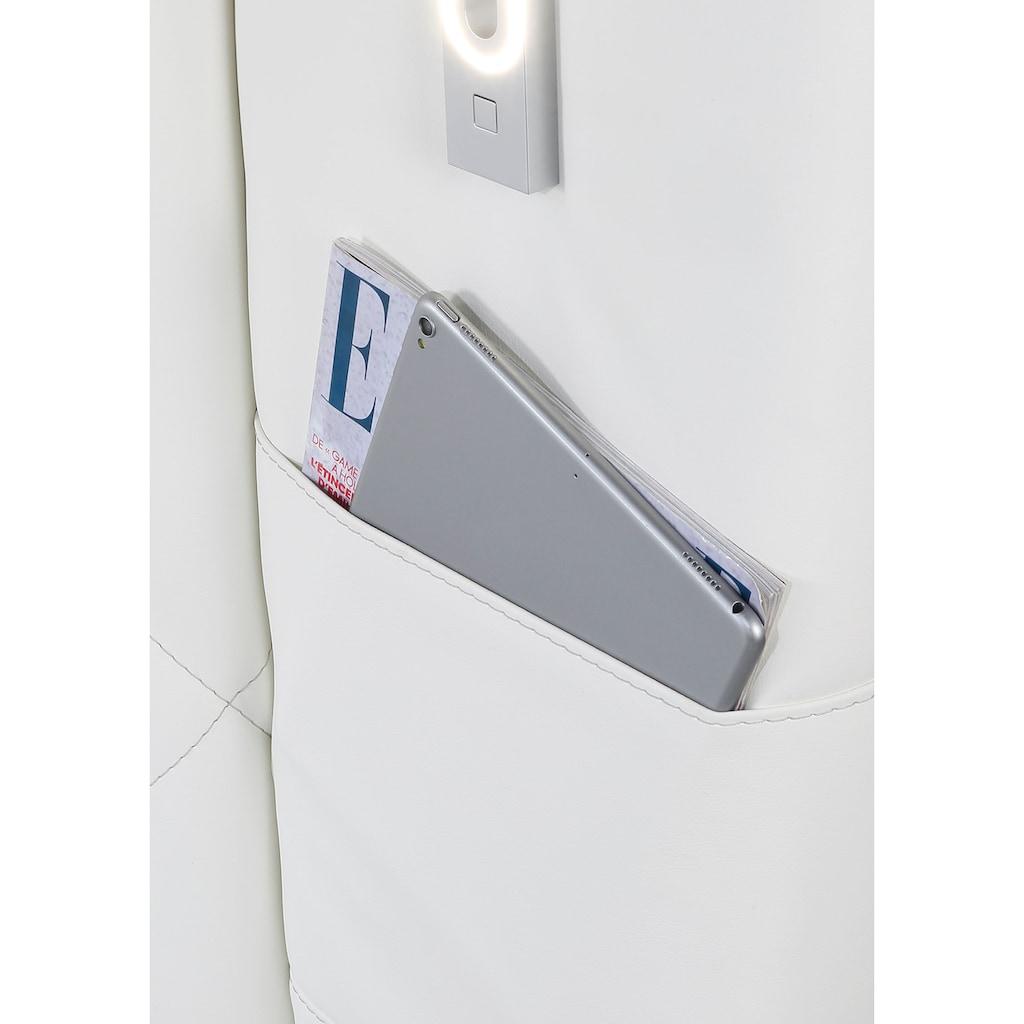 Jockenhöfer Gruppe Boxspringbett, mit LED-Beleuchtung, USB-Ports und Kaltschaum-Topper